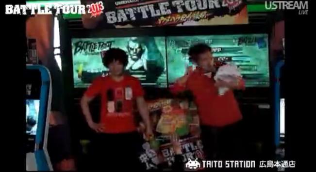 BATTLE TOUR 2013 タイトーステーション in 広島の動画と特典映像動画